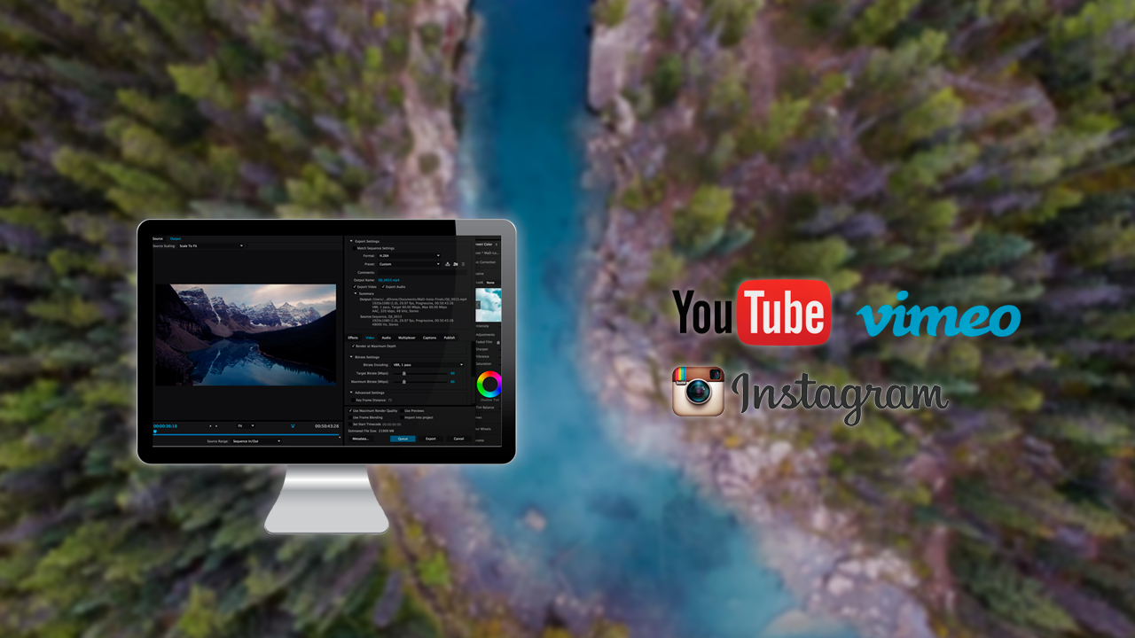 Learn Best Export Settings for High Quality Drone Videos