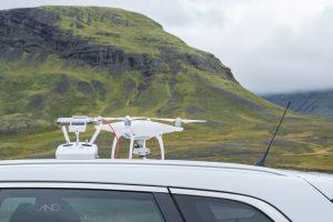 DJI Phantom 4 Iceland - Man And Drone