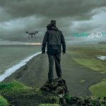 Man And Drone - Enter Iceland