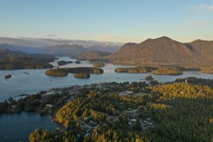 Aerial Image of Tofino by Man And Drone