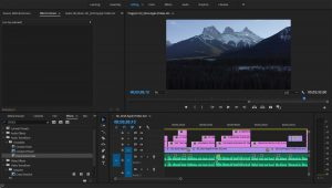 Man And Drone Editing Workflow Premiere CC