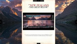 Man And Drone - The Great Below New Zealand Video Feature
