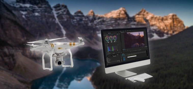 How to Colour Grade Your Drone Footage Like A Pro
